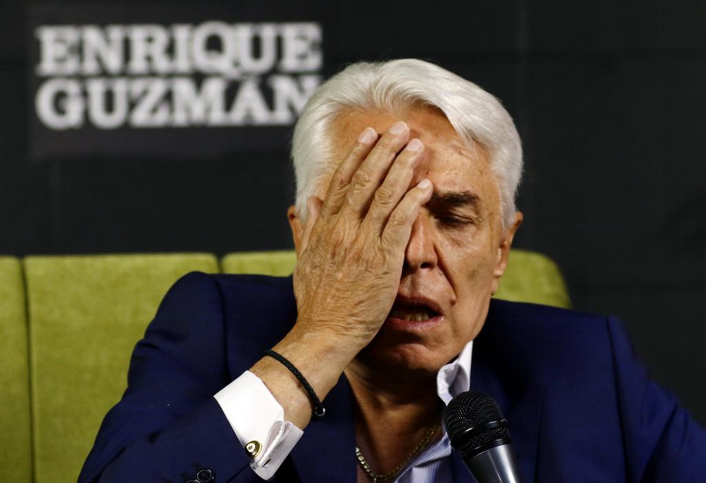 'Llegaré hasta las últimas consecuencias': Enrique Guzmán