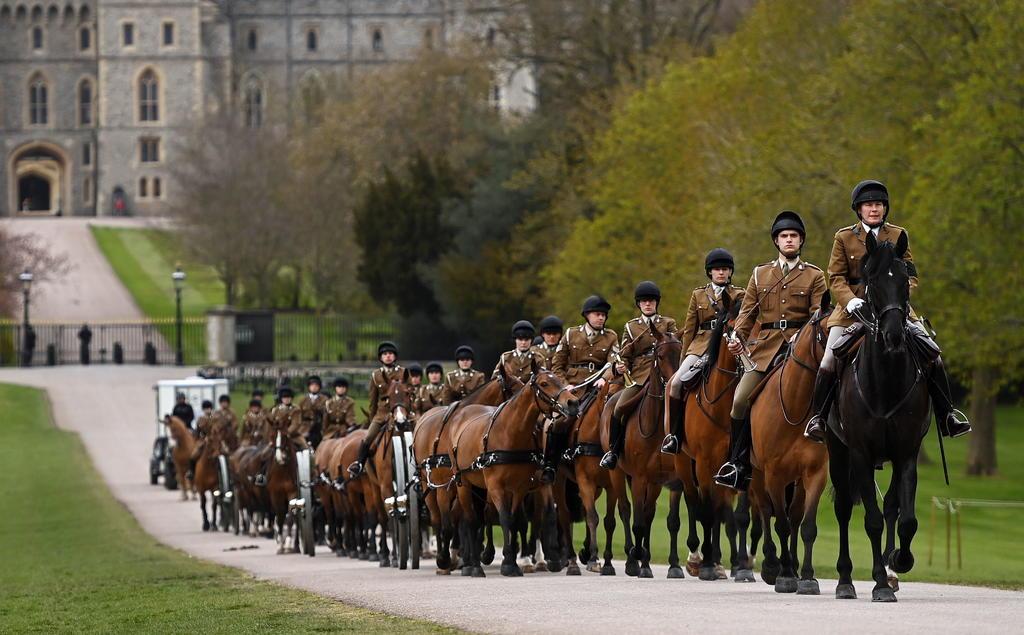 Fuerzas armadas se preparan para funeral del príncipe Felipe en Reino Unido