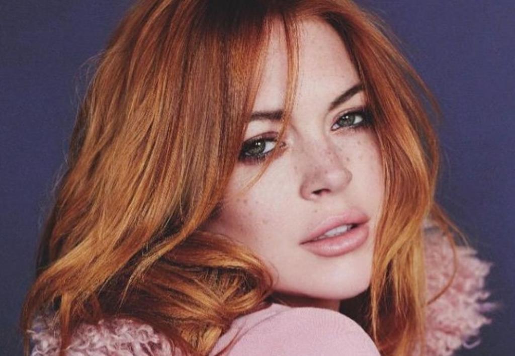 Lindsay Lohan 'conquista' las Islas Maldivas con traje de baño rojo