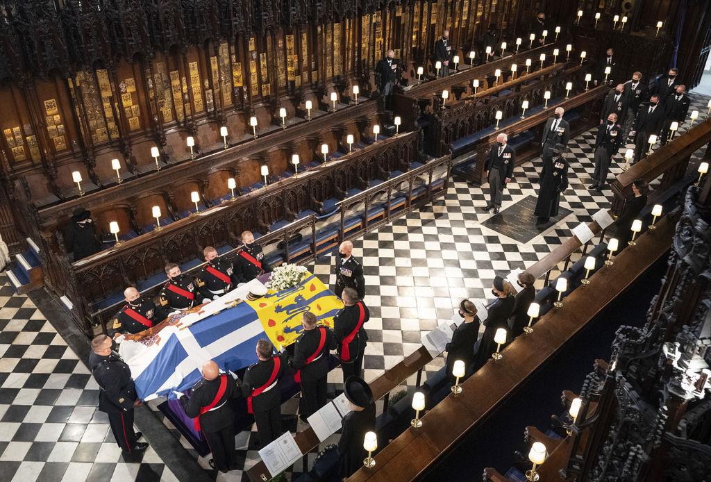 Marca COVID funeral de Felipe