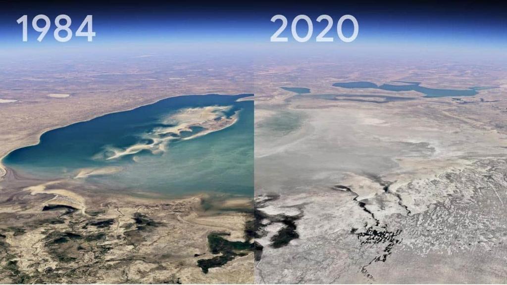 Añade Google Earth capa temporal para observar evolución de la Tierra