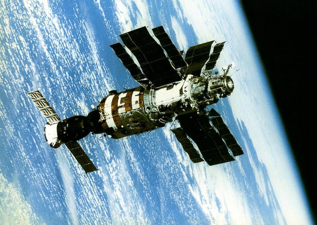Saliut, el aparato que abrió la era de las estaciones espaciales
