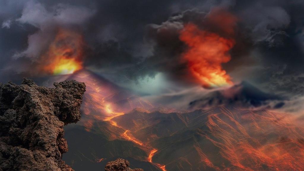 Mayor extinción masiva duró 10 veces más en la tierra que en los océanos