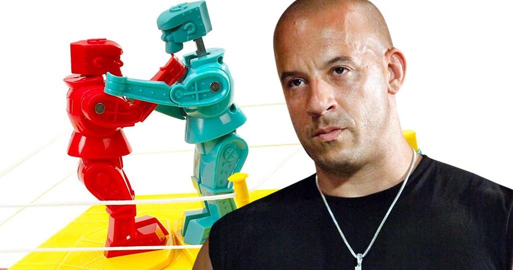 Vin Diesel adaptará al cine el juego de mesa Rock 'Em Sock 'Em Robots