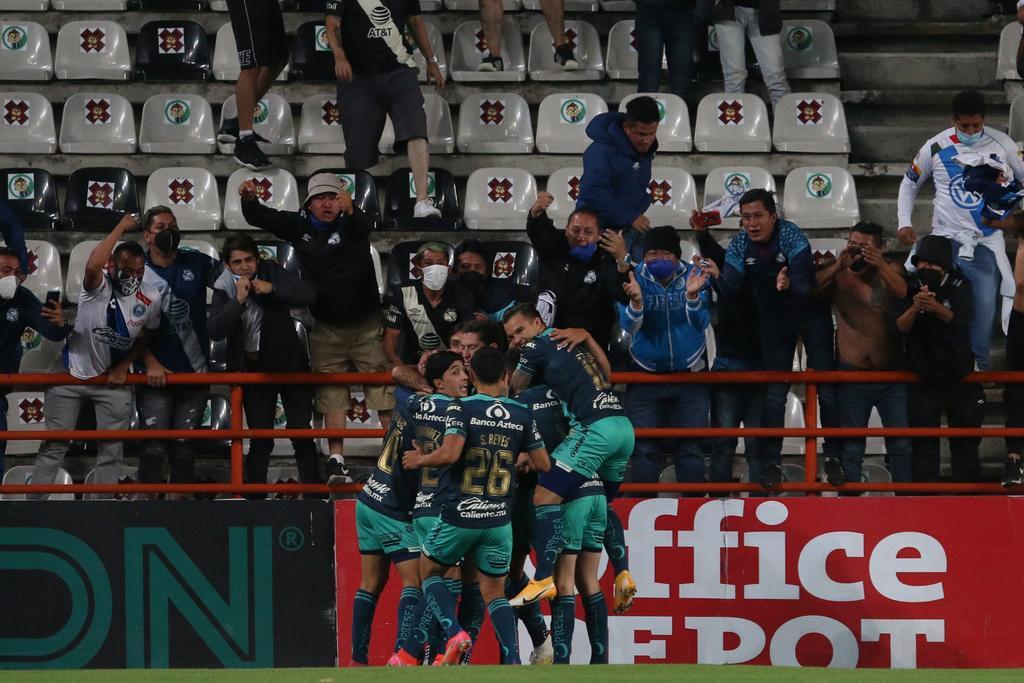 Golazo que mete al Puebla a los cuartos de final del Guardianes 2021