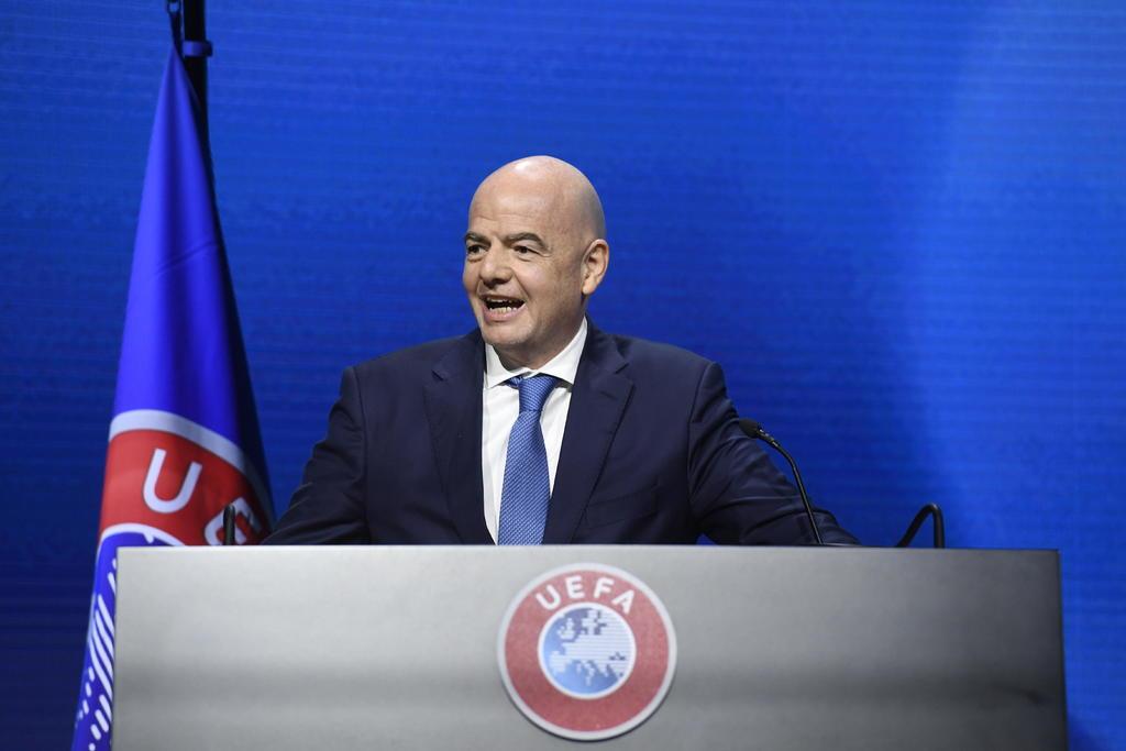 Presidente de la FIFA, firme en rechazo a la nueva Superliga