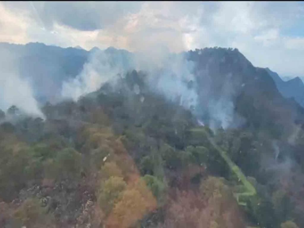 Se registra nuevo incendio en el sur de Nuevo León