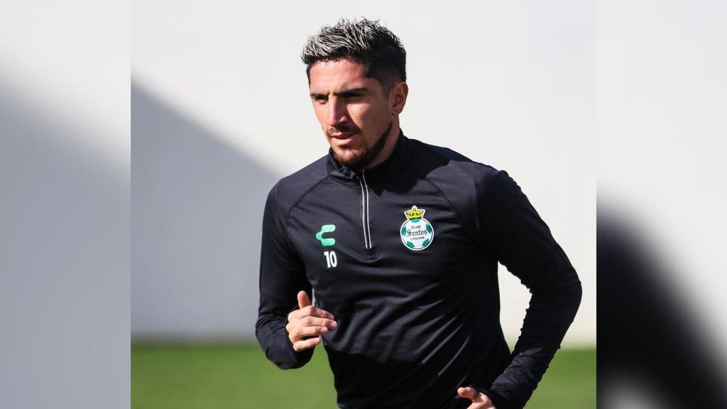 Diego Valdés, apto para regresar a entrenar con Santos