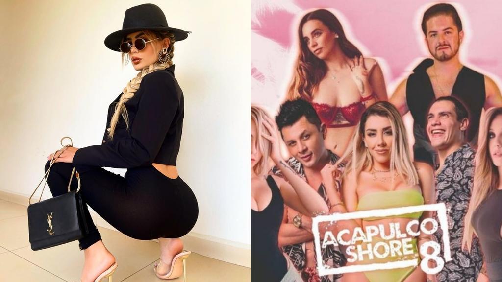 Ella es Jaylin Castellanos, la mujer trans que se suma a Acapulco Shore