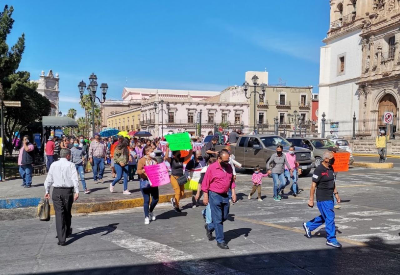 'Municipio no cederá a chantajes de líderes'