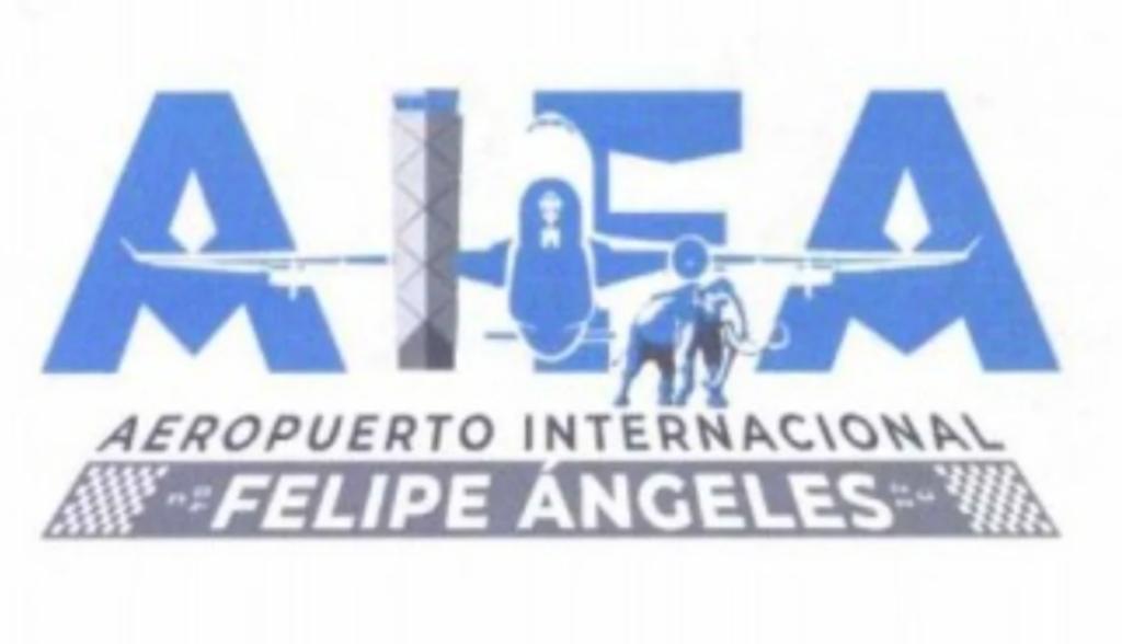 Cancelan registro de logo de aeropuerto Felipe Ángeles que incluía un mamut