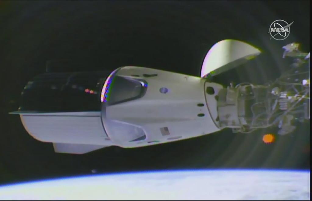Recicla NASA cápsula y cohete de Space X para astronautas