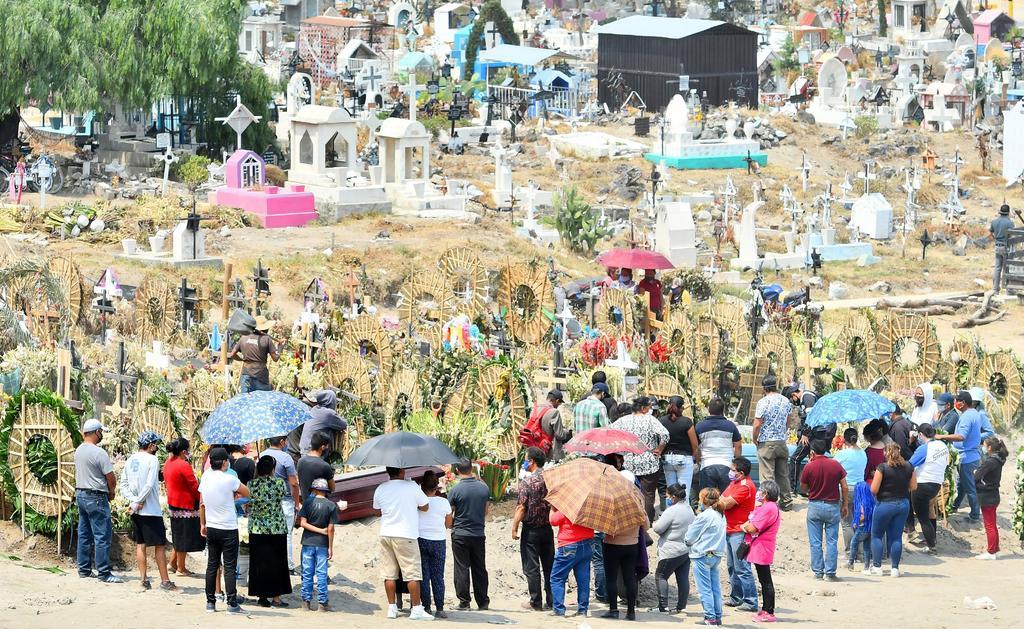 'México superará el millón de muertes en 2020 por todas las causas', estima Inegi