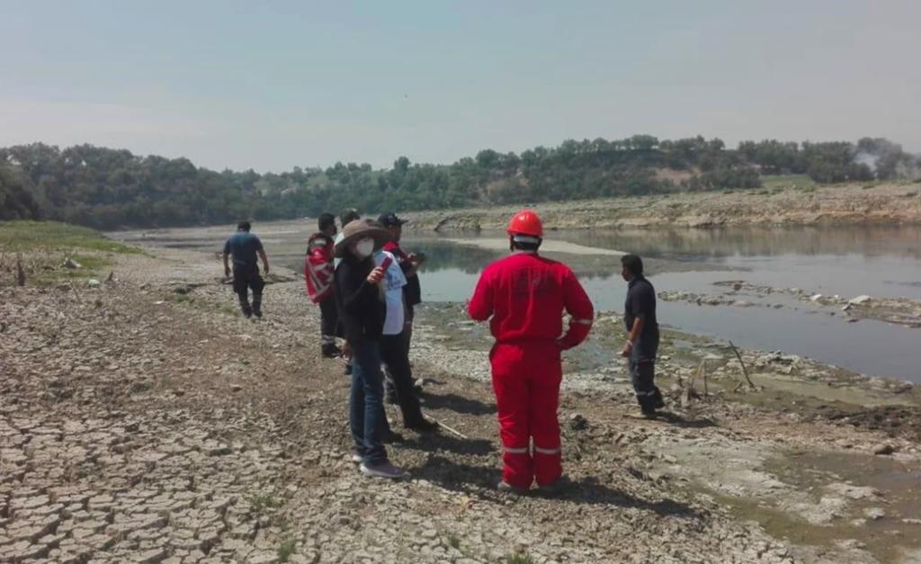 Atienden derrame de combustóleo en refinería de Hidalgo; afecta río Tula
