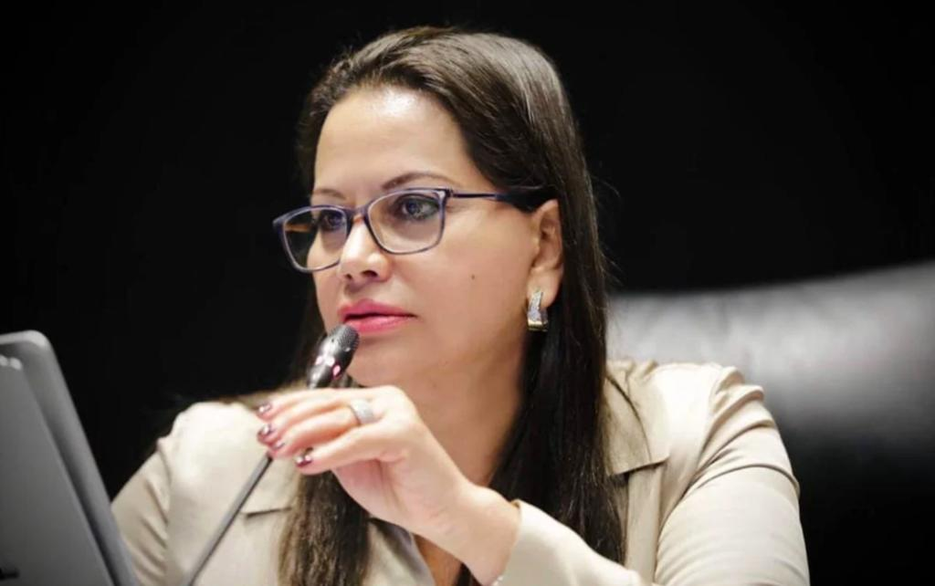 Aclara senadora que es Delgado quien tiene interés por Jalisco y Nuevo León