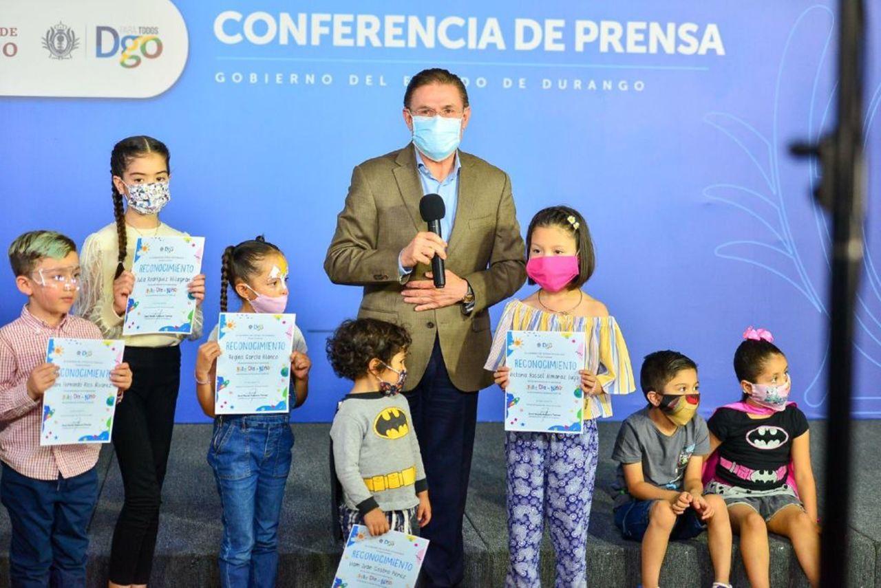 Niños presentan cifras Covid-19