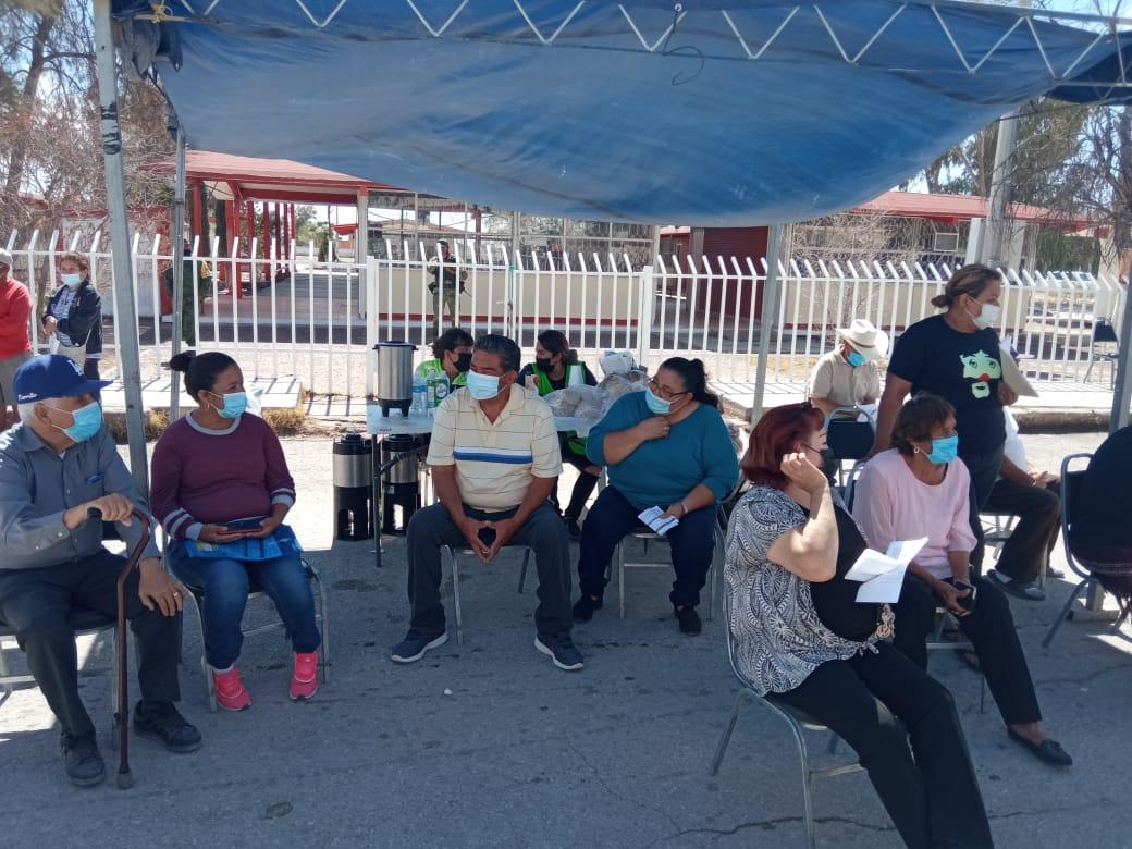 Arranca vacunación antiCOVID en la cabecera municipal de Tlahualilo