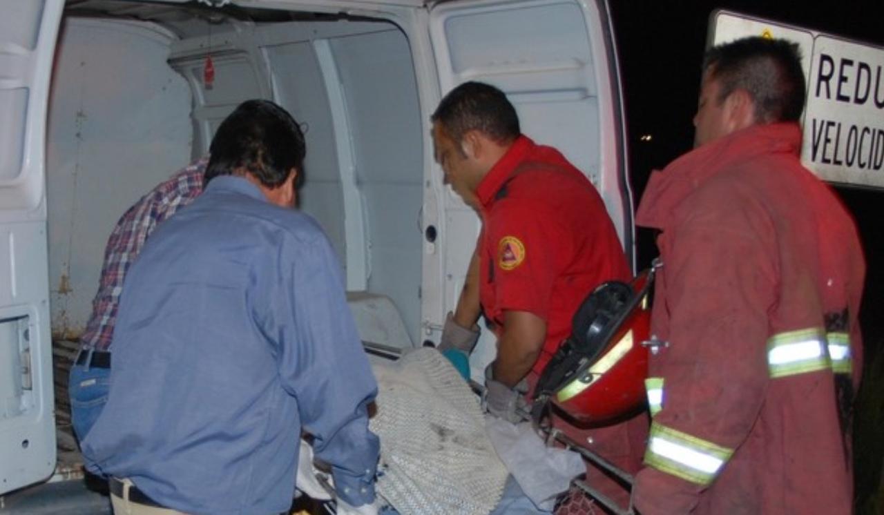 Muere varón en accidente ocurrido en límites de Durango con Zacatecas