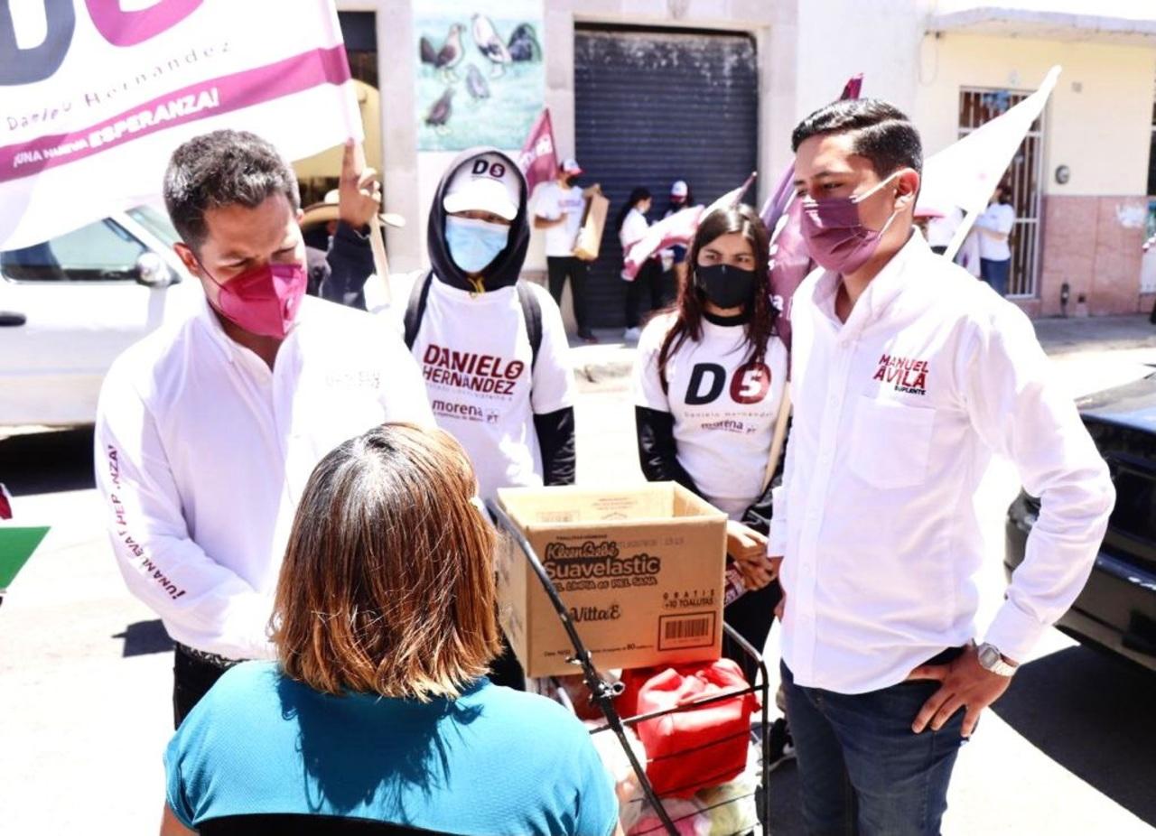 Seremos verdaderos representantes de la ciudadanía: Danielo Hernández