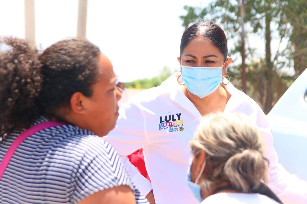 Dignificaremos el sector salud: Luly Martínez
