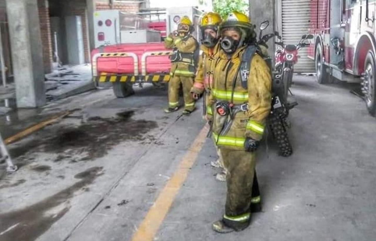 Bomberos reciben capacitación en Gómez Palacio