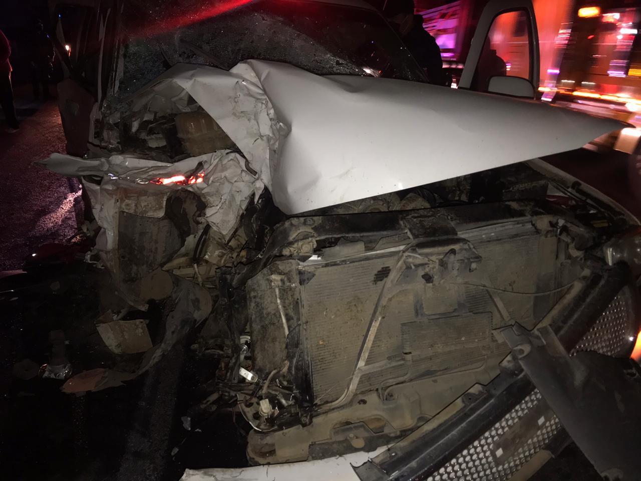 Fallece foráneo en choque carretero