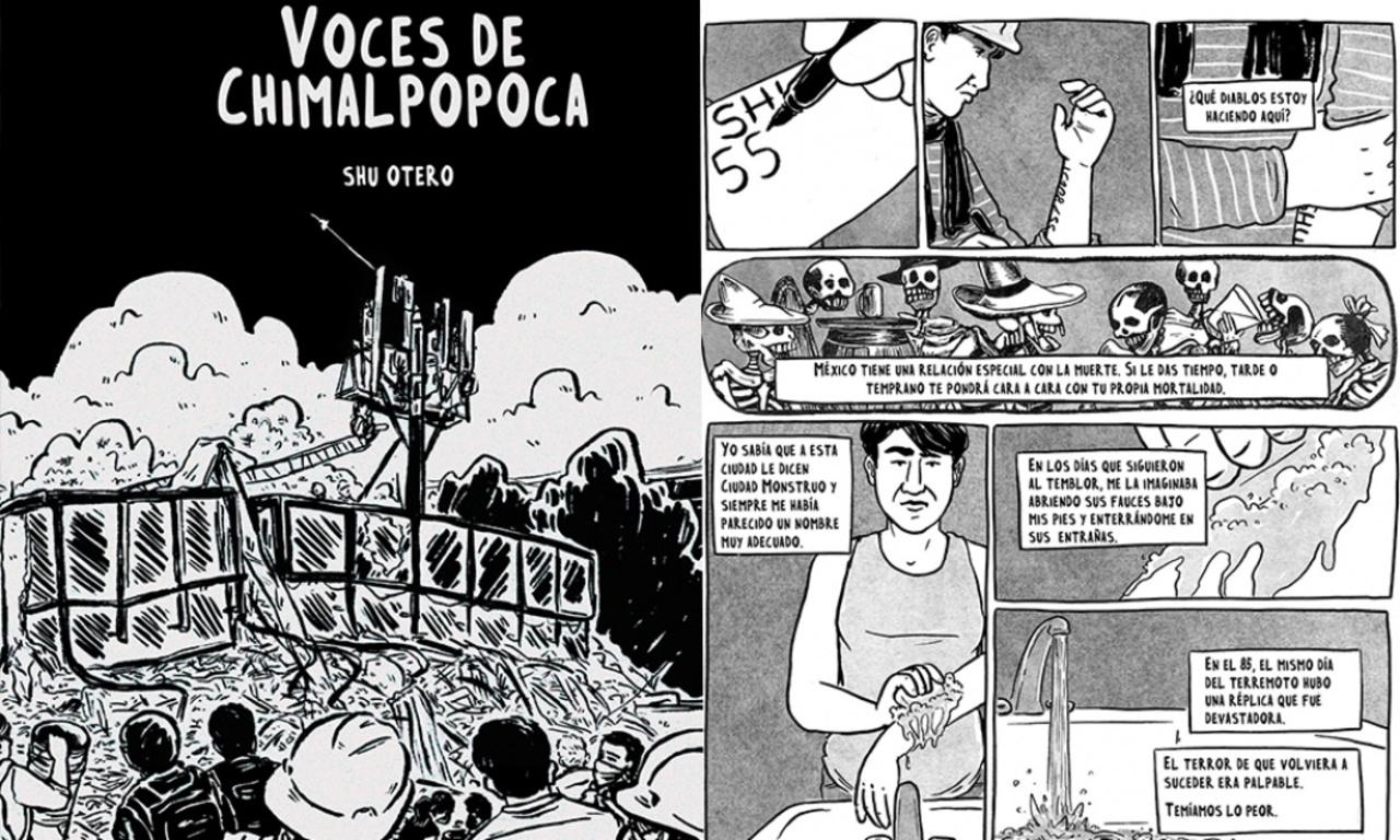 'Voces de Chimalpopoca', el relato en cómic del sismo en México