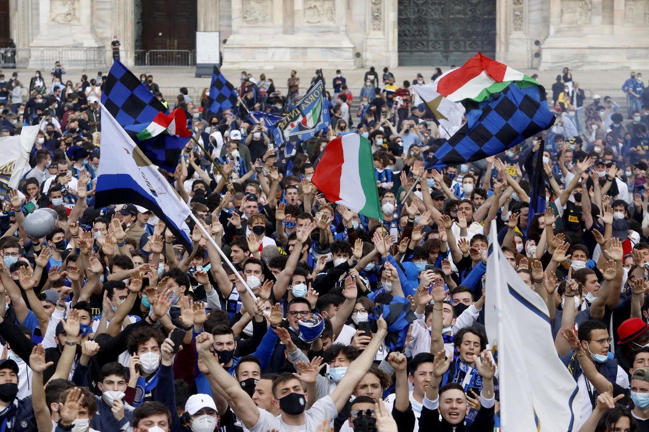 El Inter levanta el Scudetto