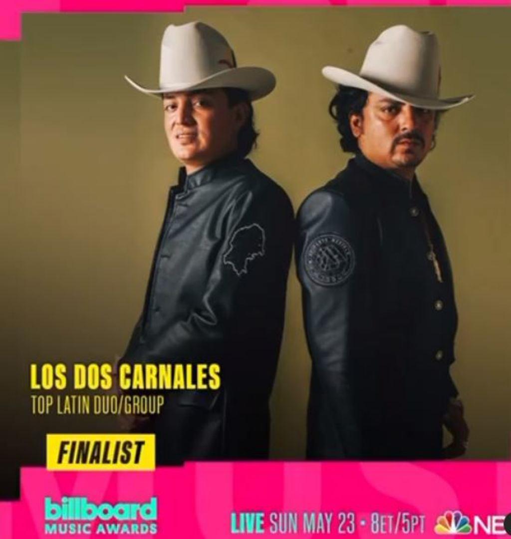 Billboard nomina a Los Dos Carnales