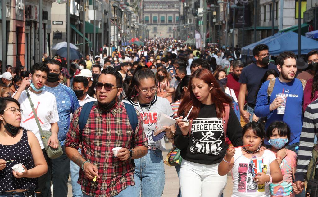 Registra México 65 muertes más por virus