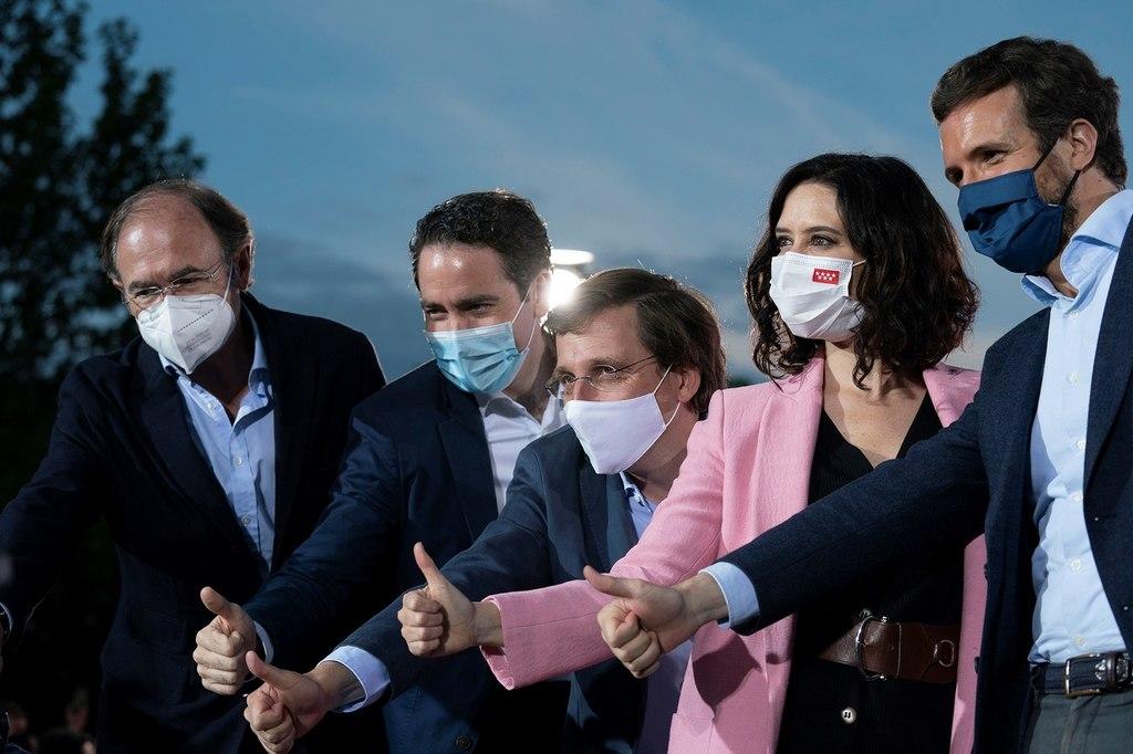Madrid termina campaña electoral