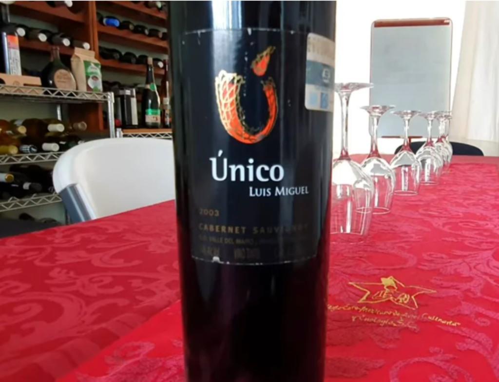 Luis Miguel desarrolló su propio vino tras accidente que le propició tinnitus