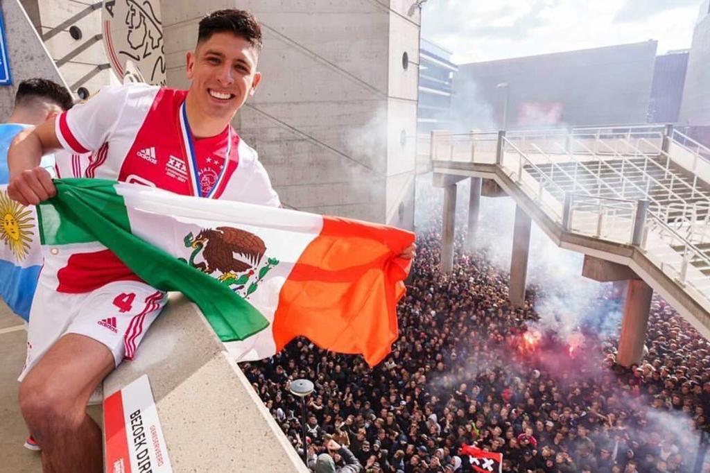 Edson Álvarez envía mensaje tras coronarse en Eredivisie