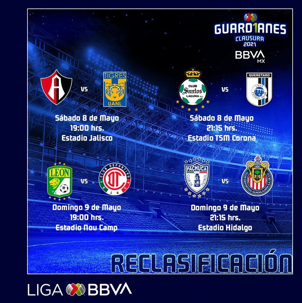 La Liga MX ya definió los horarios en duelos de repechaje