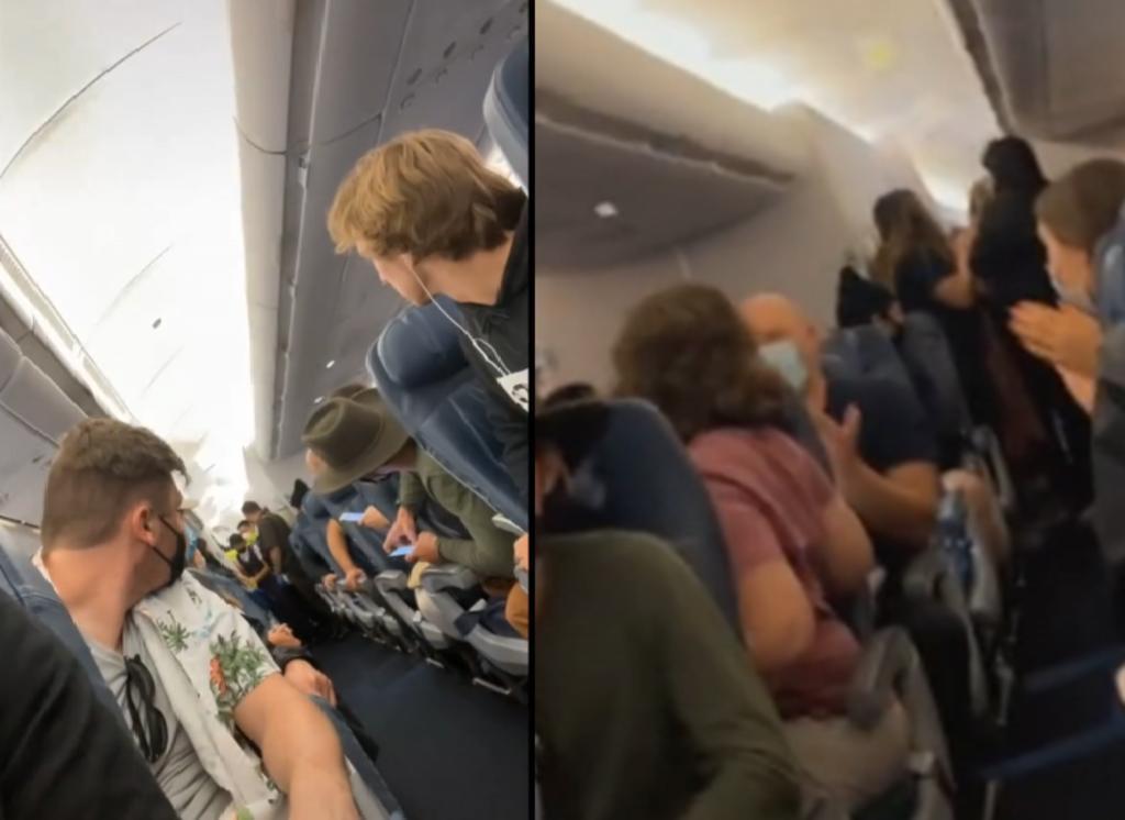 Mujer da a luz a mitad de vuelo y lo mejor fue la reacción de los pasajeros