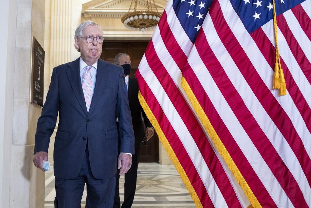 Advierten republicanos que no apoyarán planes de gasto de Biden
