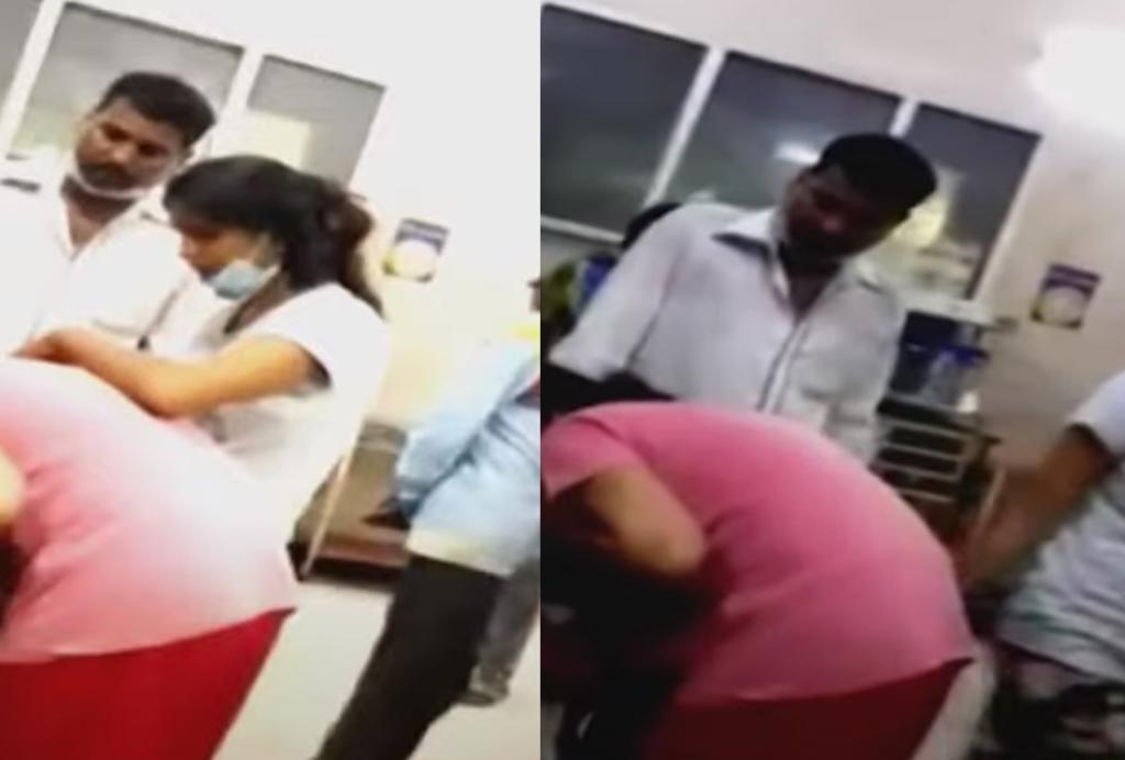 Mujer intenta 'revivir' a su madre que falleció por COVID-19 en la India