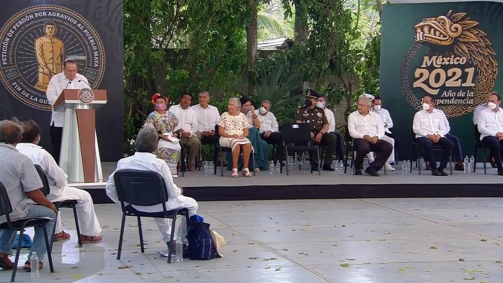 Ofrecen México y Guatemala disculpas al pueblo maya por agravios sufridos
