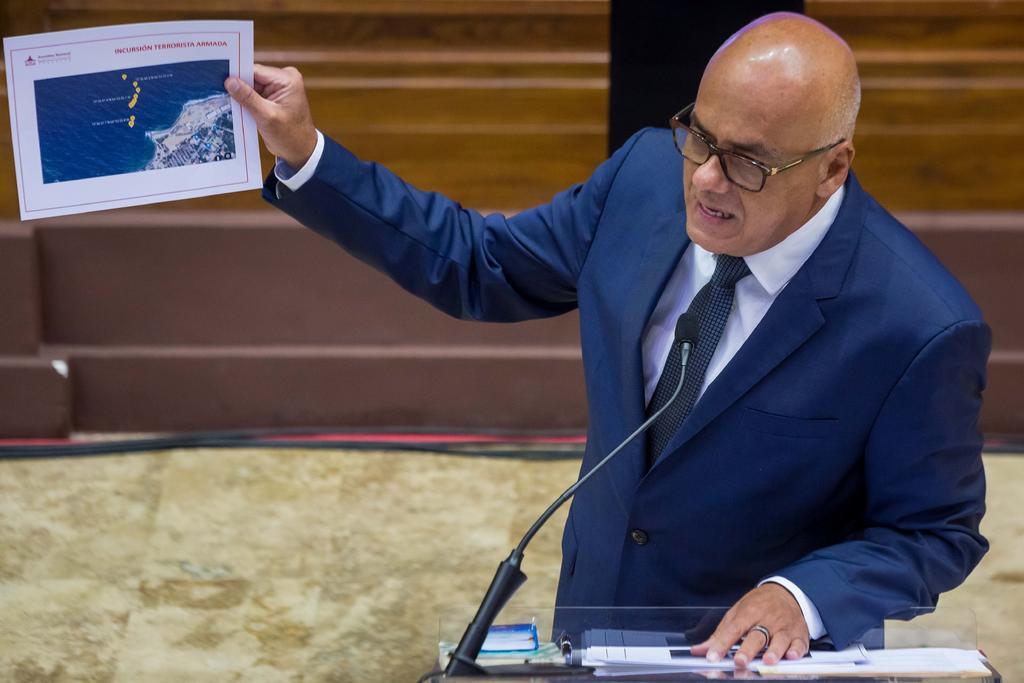 Sostiene Parlamento de Venezuela que incursión frustrada está comprobada