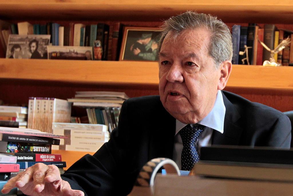 Anuncia Muñoz Ledo arranque de Frente en Defensa de la Constitución