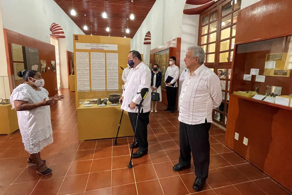Comunidades mayas rechazan perdón ofrecido por López Obrador