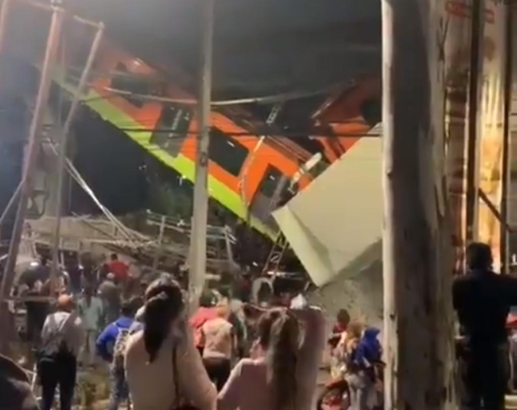 Colapsa línea 12 del Metro en CDMX; reportan al menos 50 heridos