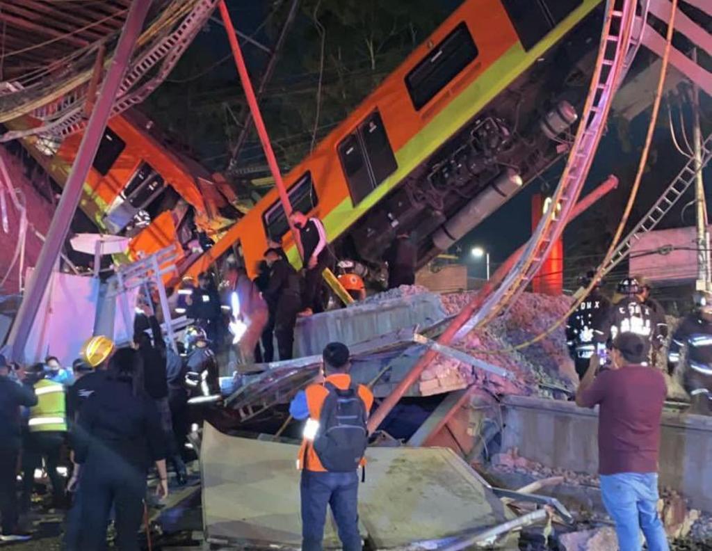 Asciende a 15 cifra de víctimas mortales tras colapso de Línea 12 del Metro en CDMX