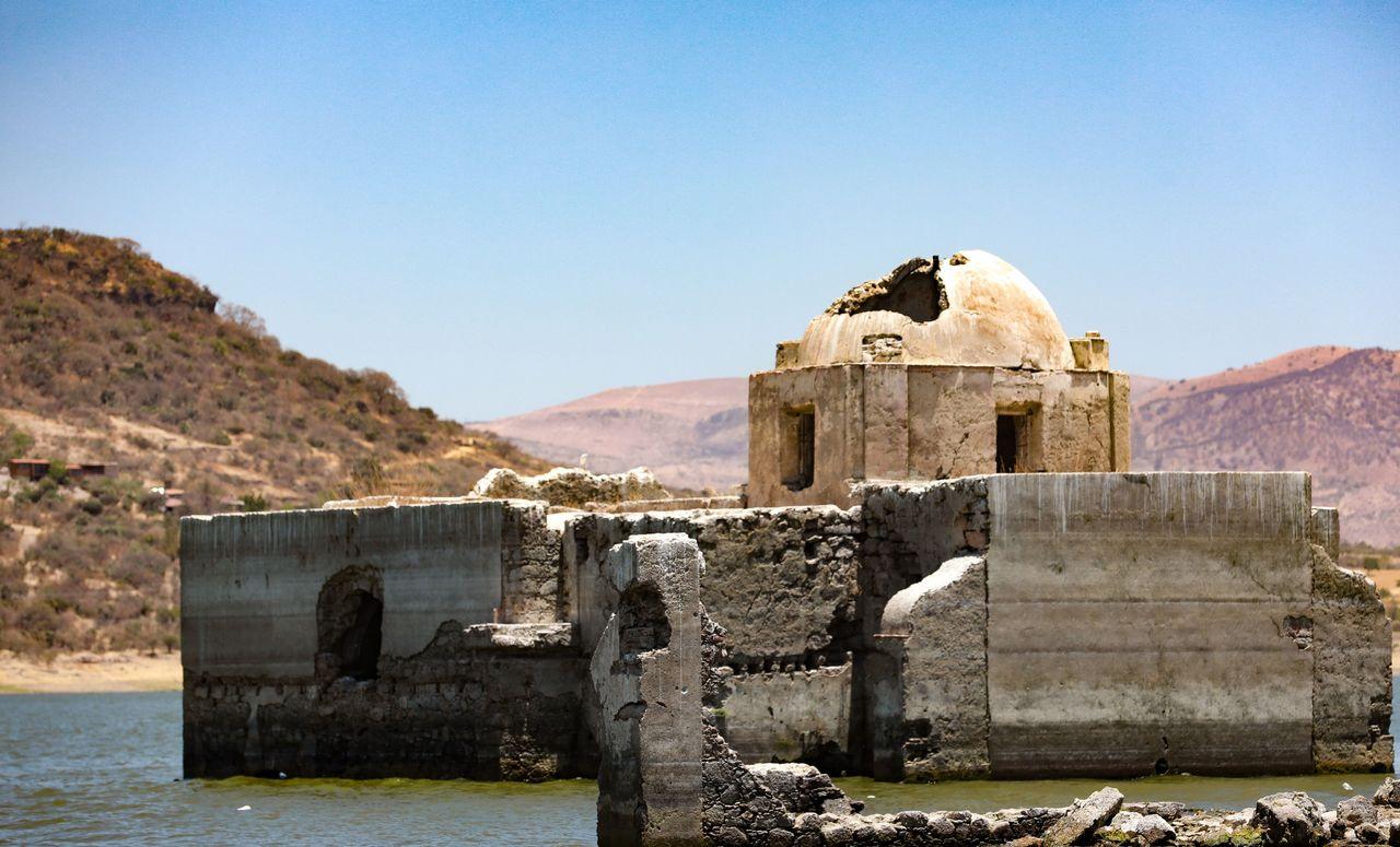 Descubren templo en Guanajuato