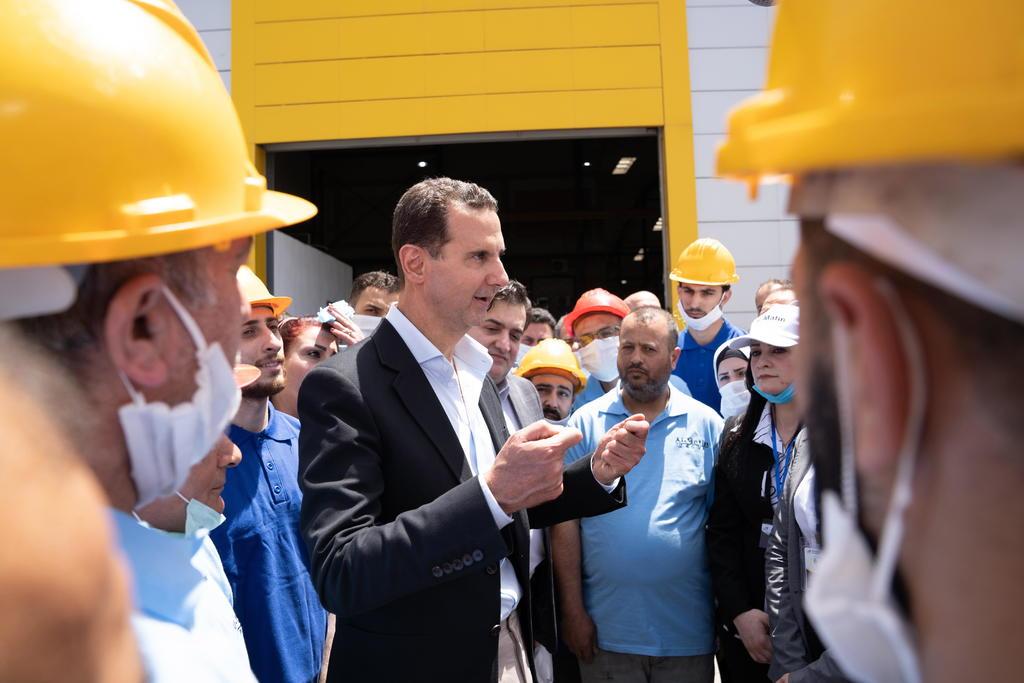Al Asad vuelve a las urnas en Siria