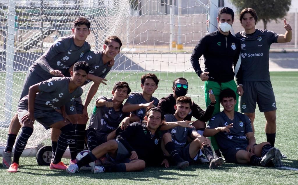 La Sub-17 de Santos Laguna irá ante Pumas