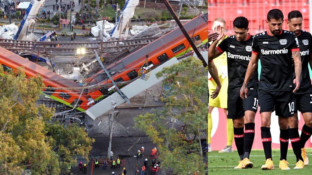 Bayer Leverkusen lamenta lo ocurrido en Metro de CDMX