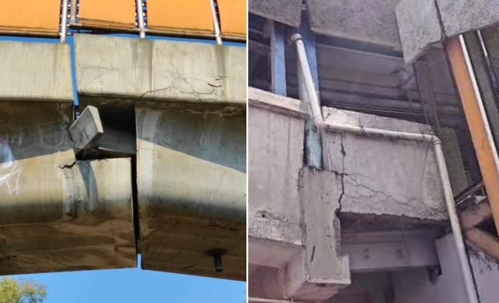 Tras colapso en Línea 12, denuncian cuarteaduras en Metro Oceanía y Pantitlán