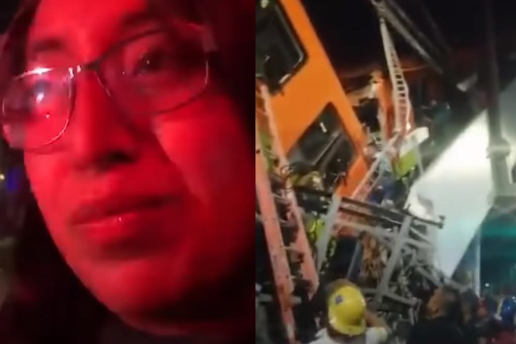 'Todo se vino abajo'; dice sobreviviente del desplome de la Línea 12 del Metro