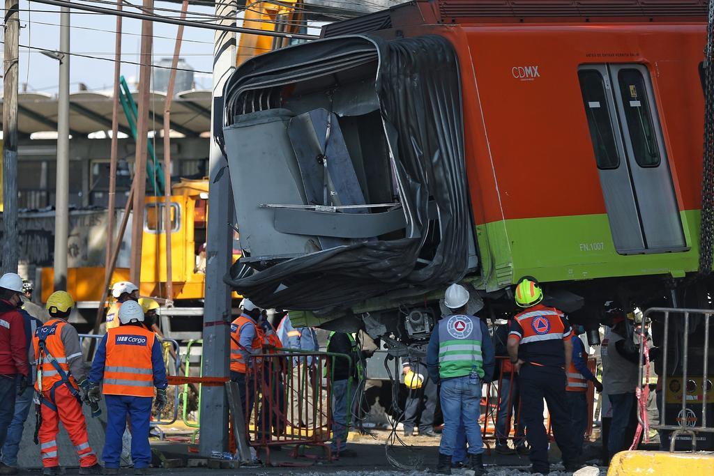 Retiran último vagón de tren siniestrado en Línea 12 del Metro de la CDMX